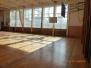 Nová podlaha v naší tělocvičně